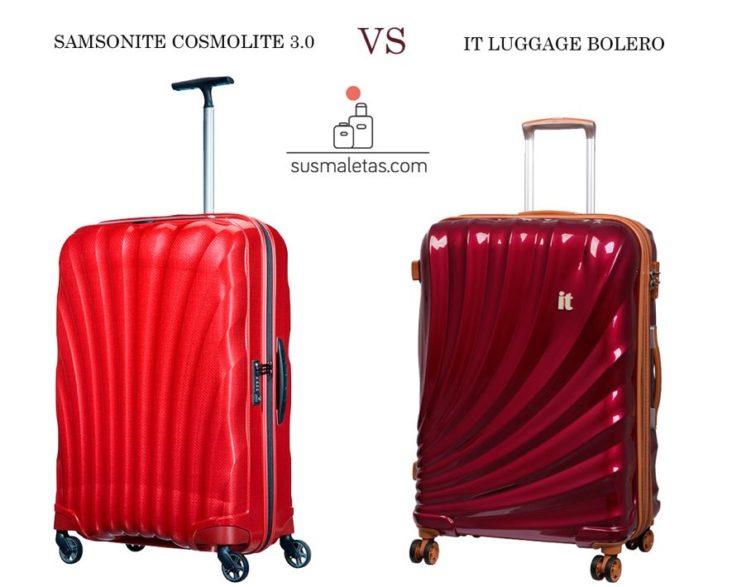 Comparativa IT luggage Bolero vs. Samsonute Cosmolite