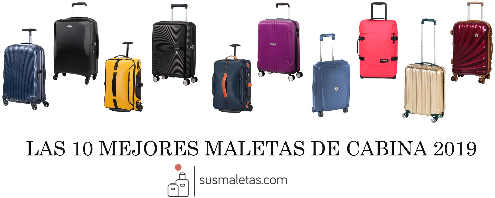 c95b7cc65 Las 10 mejores maletas de cabina 2019 - Sus Maletas
