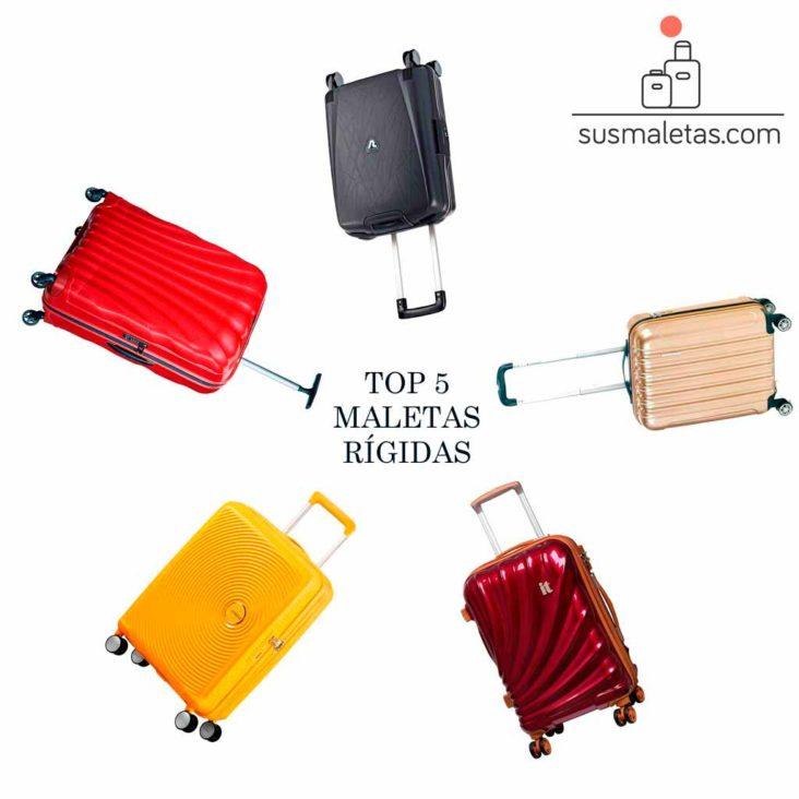 Las 5 mejores maletas rigidas de 2019