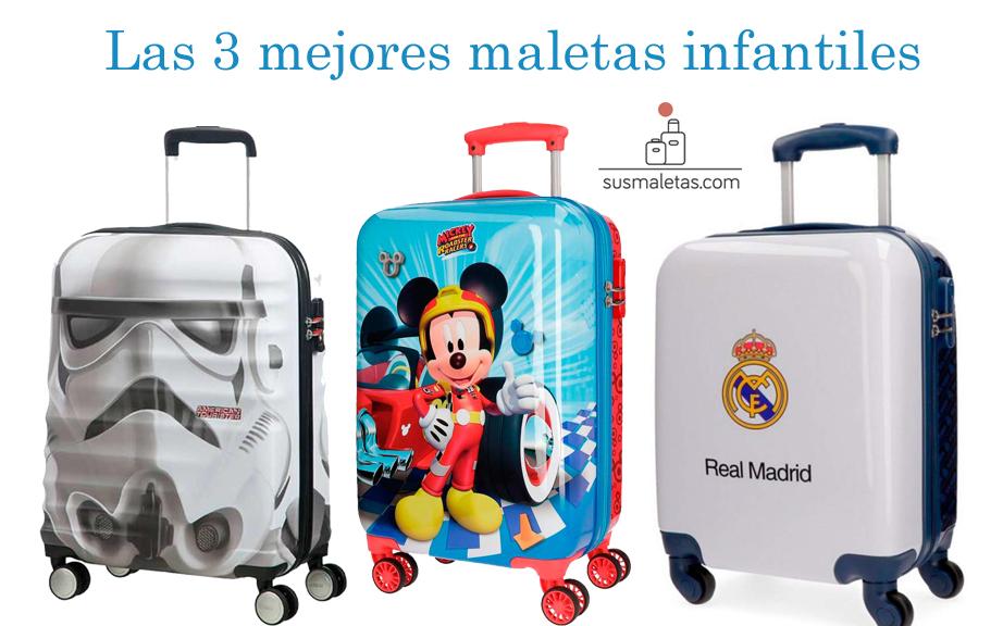 856c6d72f Las 3 mejores maletas de viaje para niños 2019 - Sus Maletas