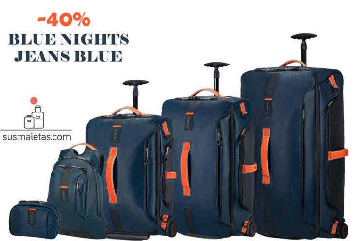 bolsa de viaje con ruedas - paradiver light - susmaletas.com