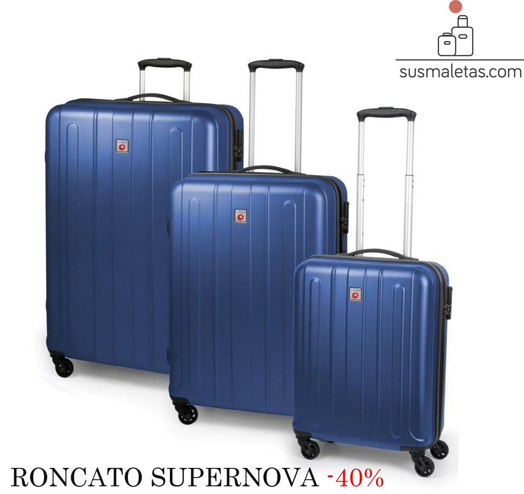 912424b8c -40% maletas rígidas Roncato Supernova