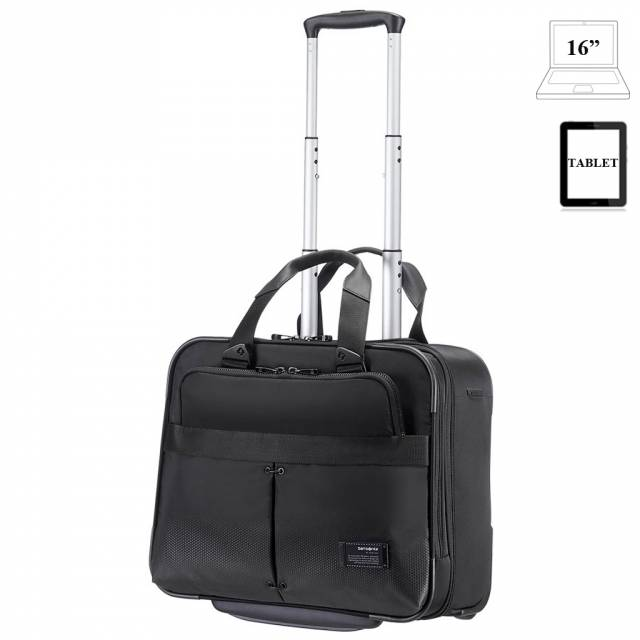 Laptop briefcase with wheels Samsonite Cityvibe
