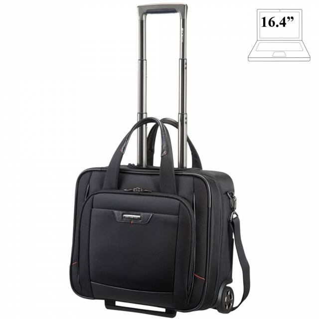 Laptop briefcase with wheels Samsonite Pro-DLX 4 Business