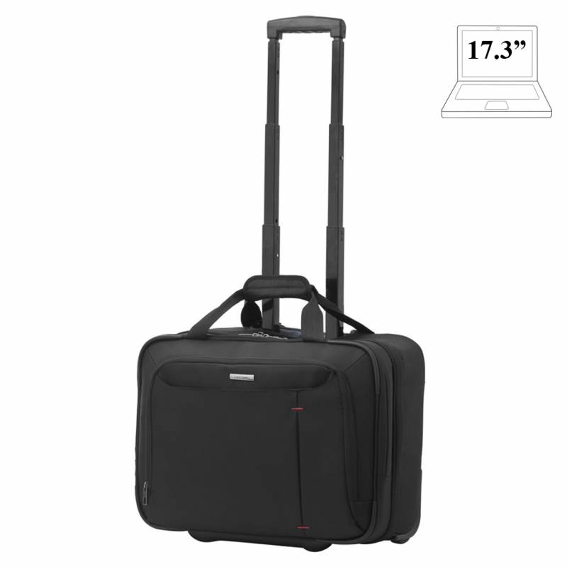 Laptop briefcase with wheels Samsonite Guardit