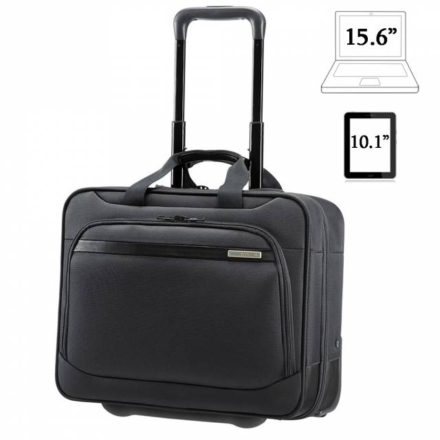 Laptop briefcase with wheels Samsonite Vectura