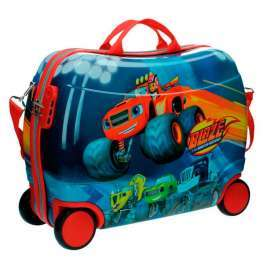 Blaze and Monster Machines kids rolling suitcase 50 cm