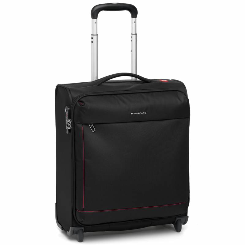 Maleta trolley negra Roncato Connection