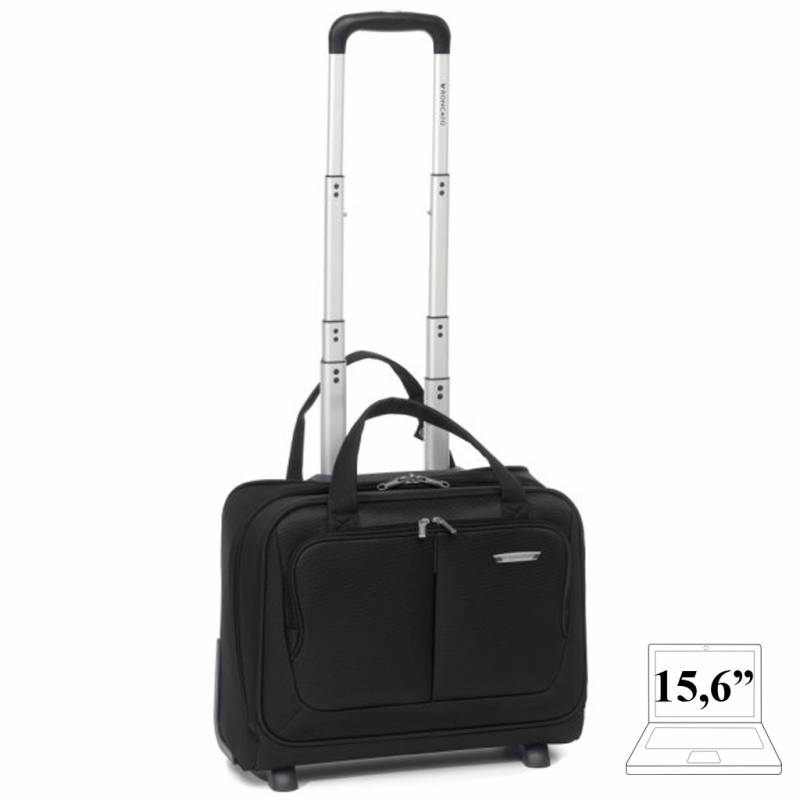 Rolling Tote color negro Roncato Smart