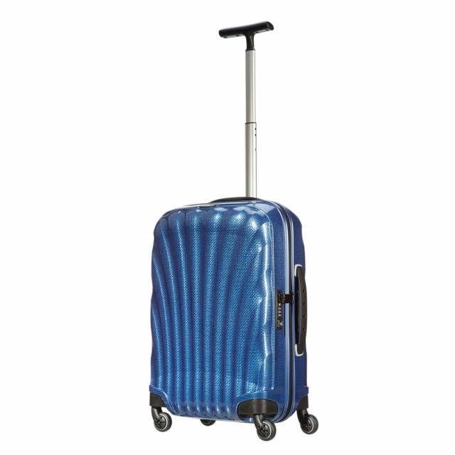 Maleta color azul Samsonite Cosmolite