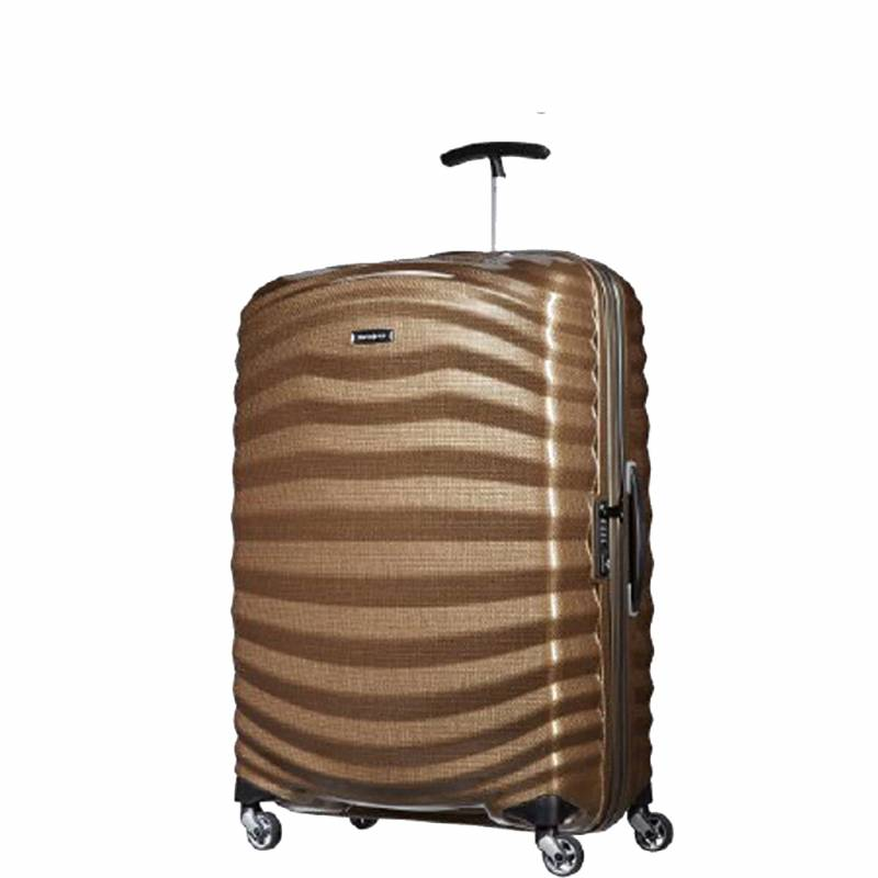 Maleta color arena Samsonite Lite-Shock