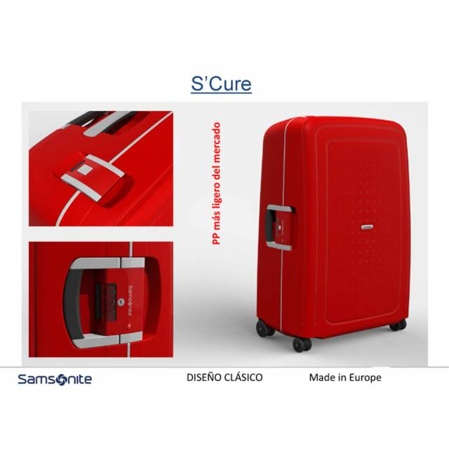 Samsonite S´Cure 75 cm large size