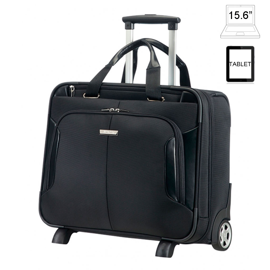laptop taschen mit rollen 15 6 samsonite xbr. Black Bedroom Furniture Sets. Home Design Ideas