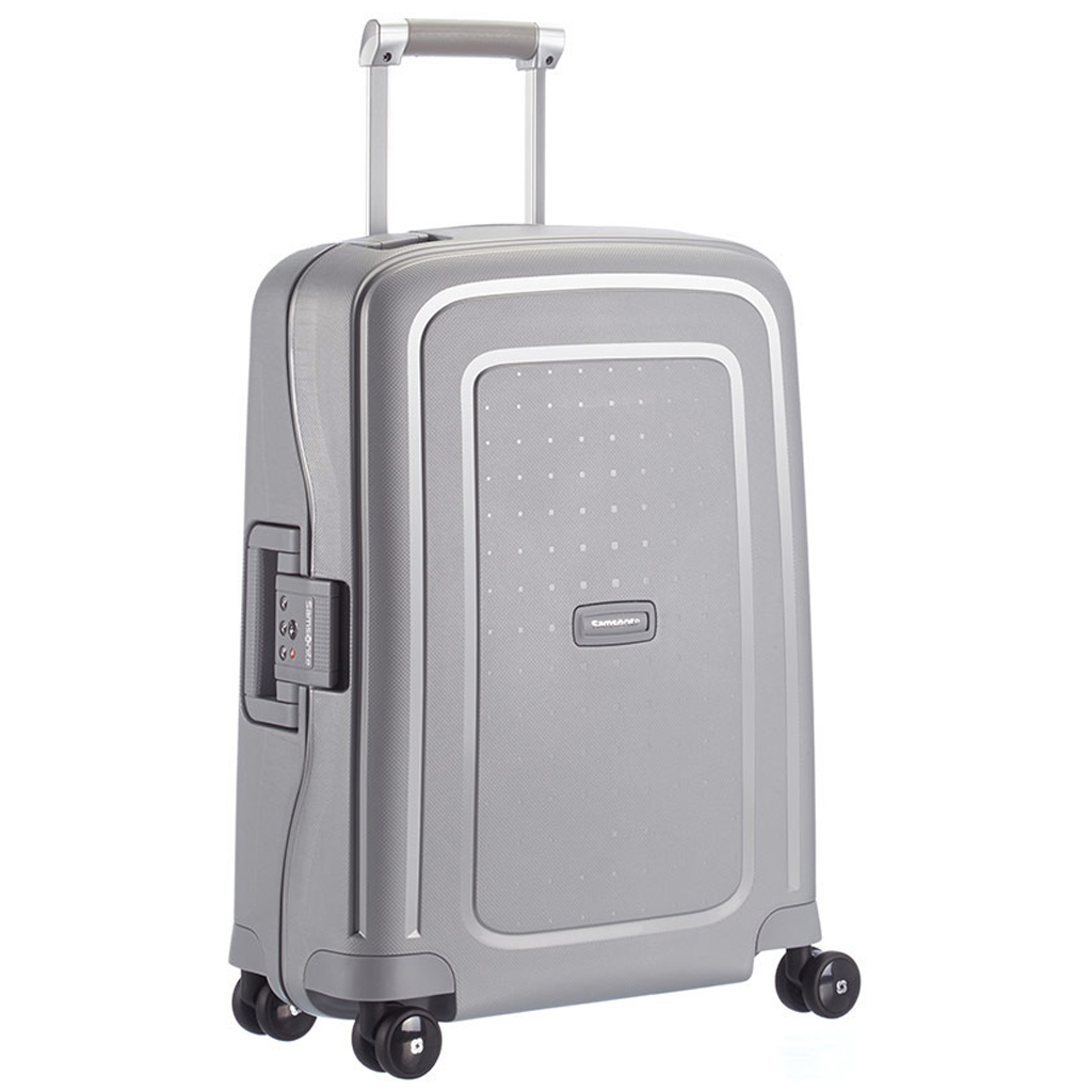 Samsonite Polypropylene suitcase without zipper