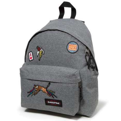 Zaino Eastpak Padded Pak'R grey patched